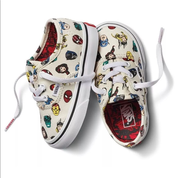 8f32798c51 Vans off the Wall Toddler X Marvel Heads Deadstock